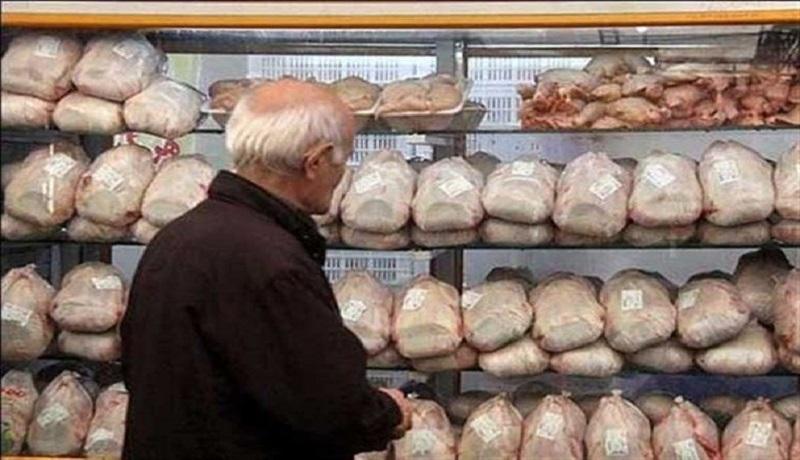 قیمت فعلی مرغ ۶۰۰ تومان بالاتر از نرخ مصوب